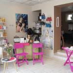 photo salon hair flash